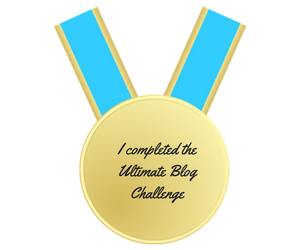 I completed the Ultimate Blog Challenge
